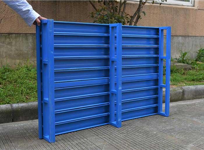 5 advantages of steel pallet in logistics transportation