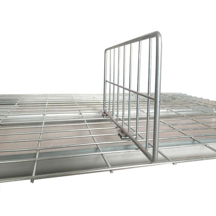 Versatile Wire Mesh Pallet Racking Dividers