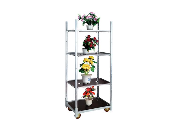 Flower Cart Danish Trolley Flower Display Stand