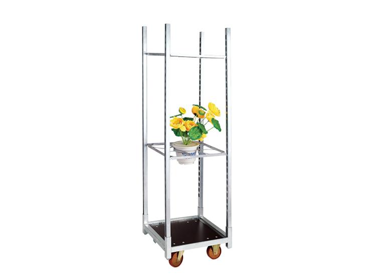 Danish Plant Trolley Metal Flower Carts