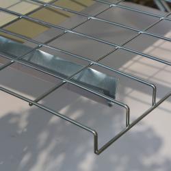 U channel waterfall grid welded wire mesh decking panel