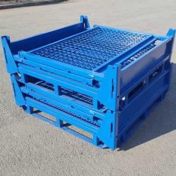 Folding Warehouse Pallet Stillages Mesh Cage